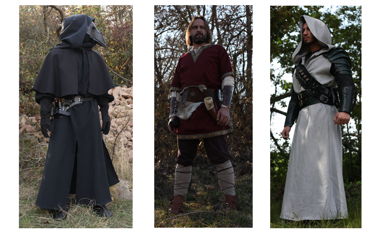 LARP shop - order medieval clothing online | LARP-fashion co uk