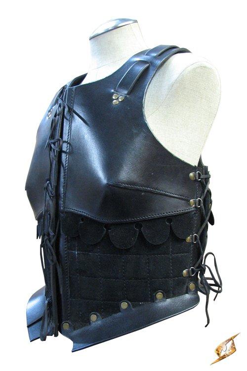 Lederrüstung schwarz