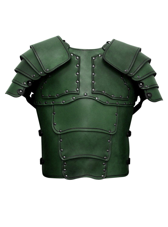Söldner Lederrüstung grün