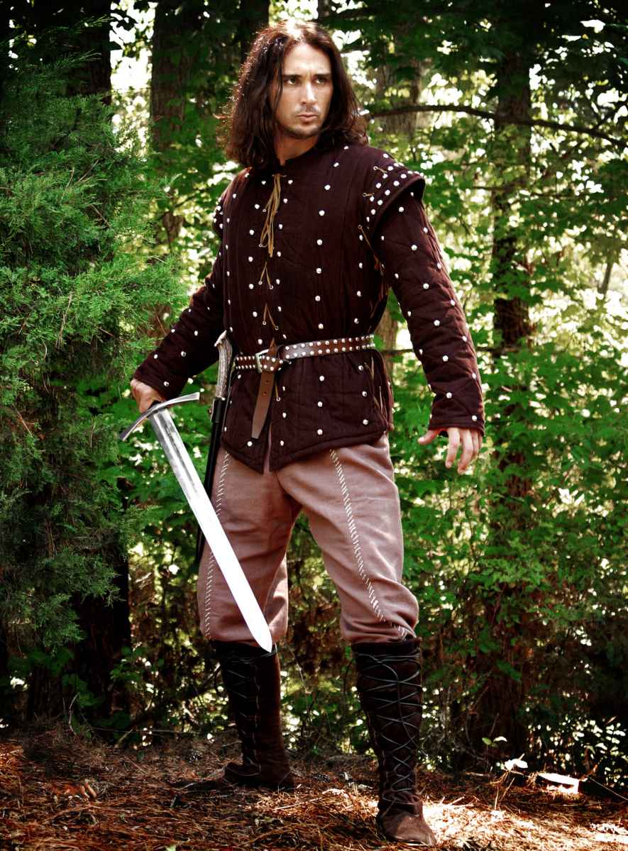 Gambeson And Shirt With Studs Order Online With Larp