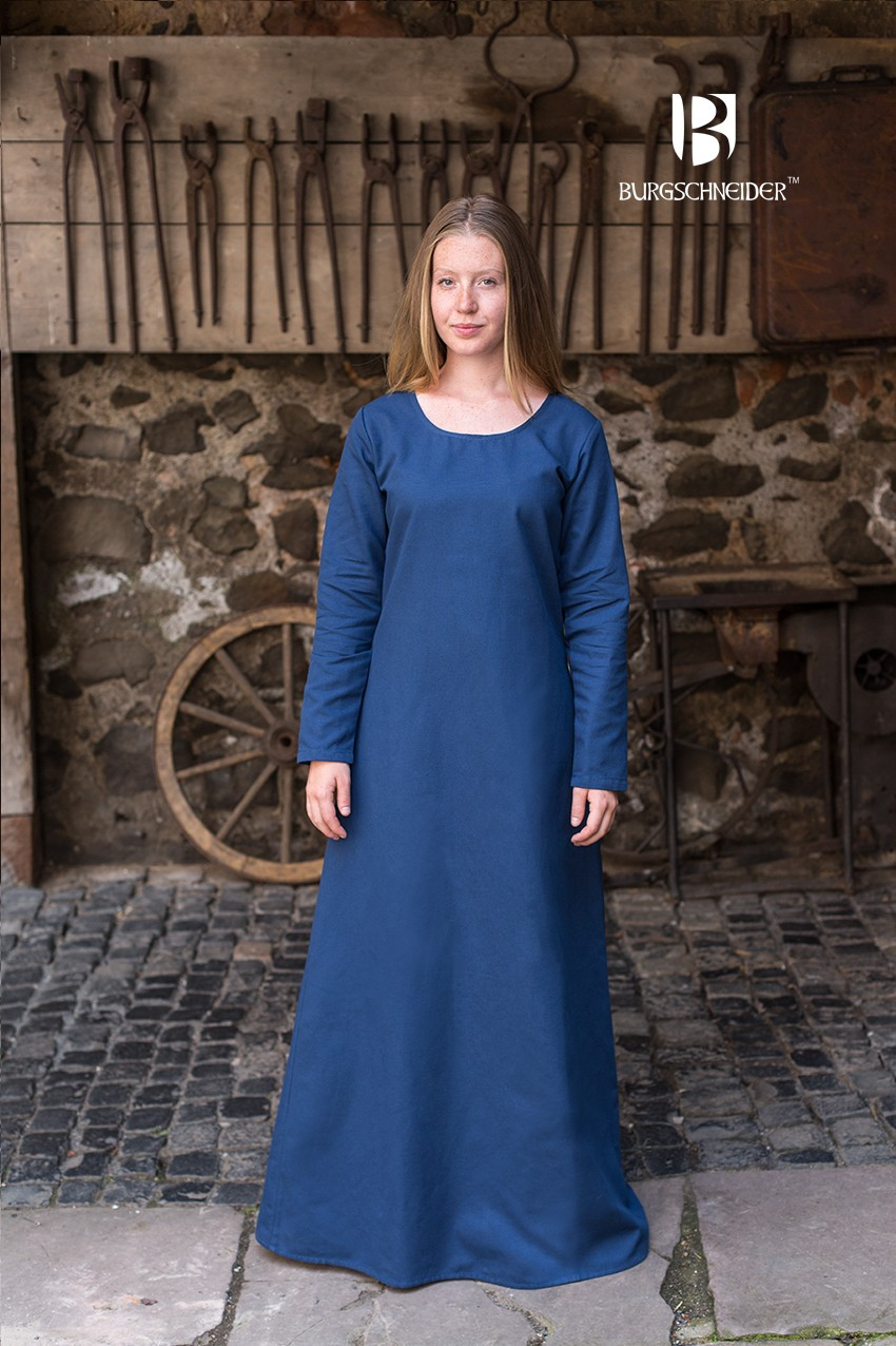 9aa344a5d3be2 Blue Freya Shift Dress order online with larp-fashion.co.uk