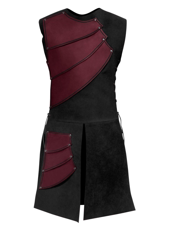Bogenschütze Lederrüstung rot