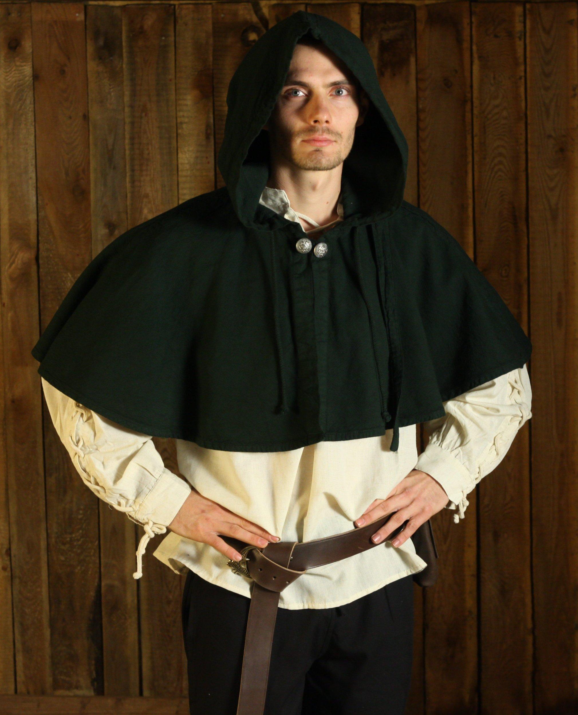 Kapuze für Larp RPG NEU GUGEL gewandung gothic mittelalter #5001 FARBWAHL