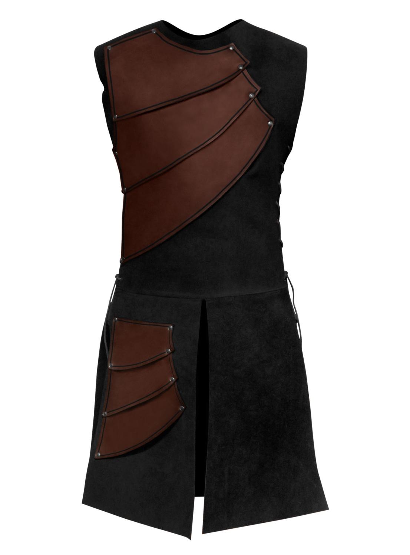 Bogenschütze Lederrüstung braun