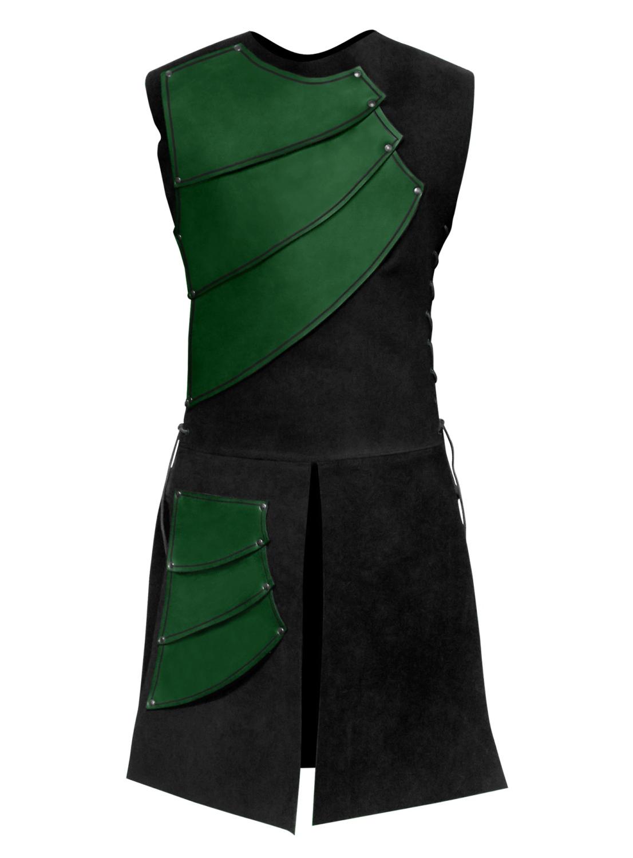 Bogenschütze Lederrüstung grün