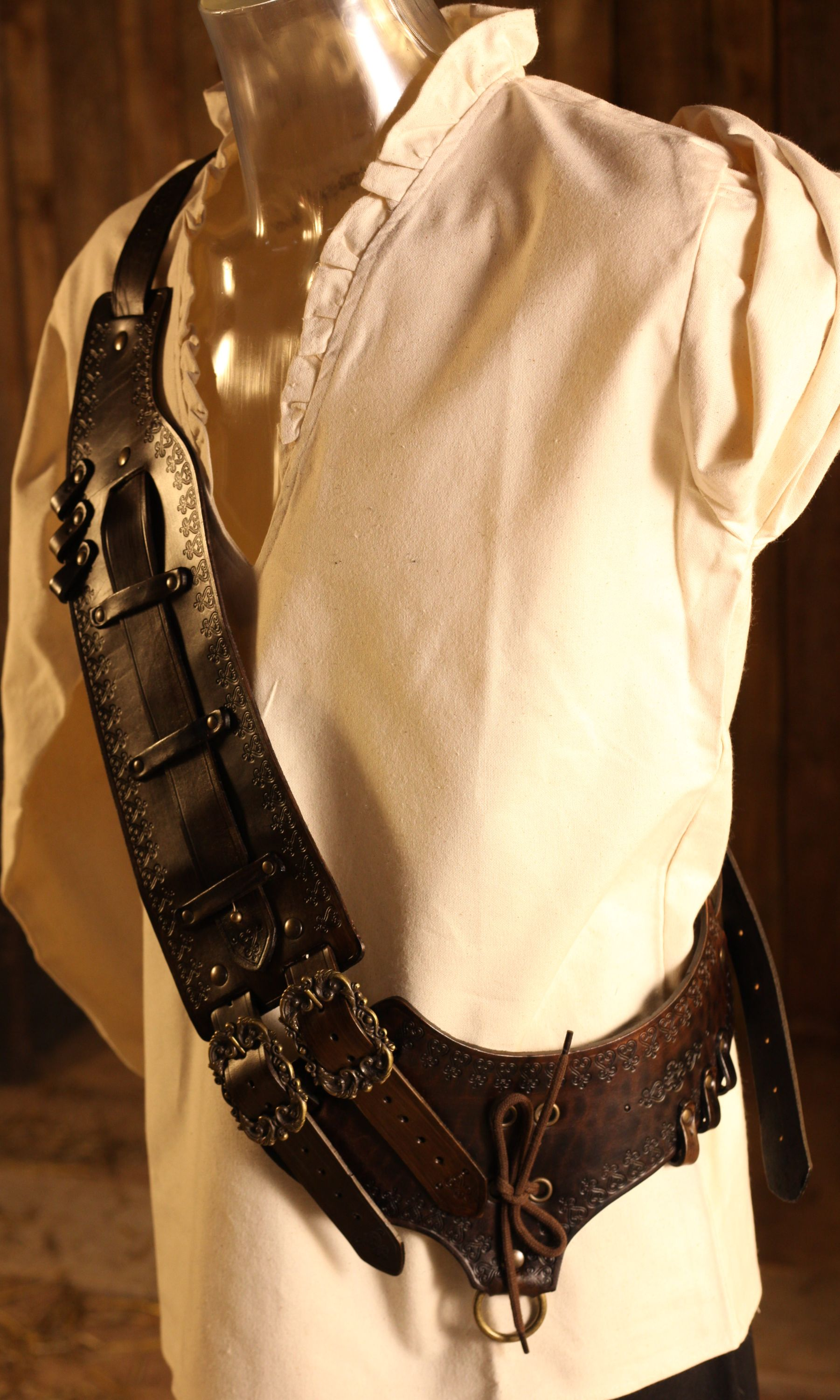 Leather Bandolier Right Handed Order Online With Larp